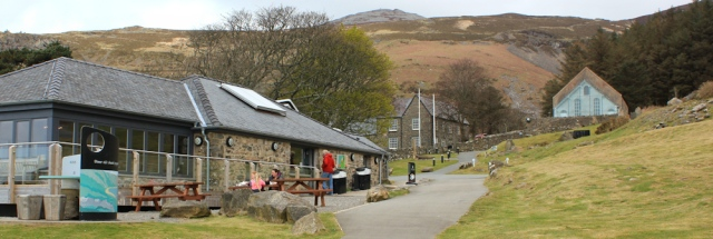 19 Heritage Centre, Nant Gwrtheyrn, Ruth walking the Lleyn Coast Path