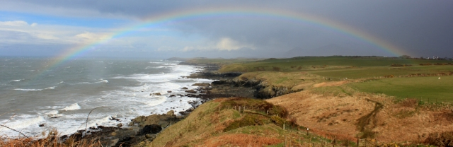 19 rainbow after the storm, Morfa Nefyn, Ruth Livingstone
