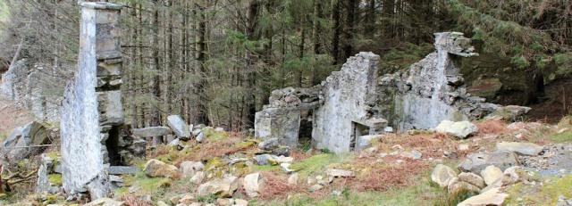 21 ruins, Nant Gwrtheyrn, Ruth's coastal walk, Llithfaen, Wales