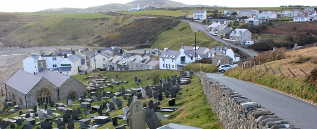 25 Aberdaron, Ruth's coastal walk in Wales