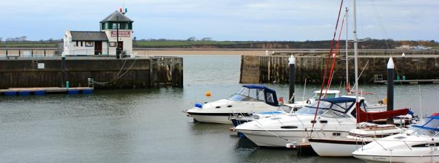 01 Caernarfon marina, Ruth Livingstone's coastal walk