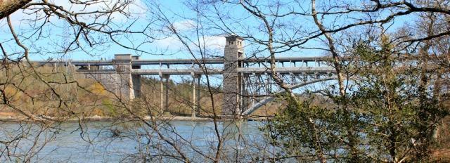11 Pont Britannia, Wales Coast Path, Ruth's hike