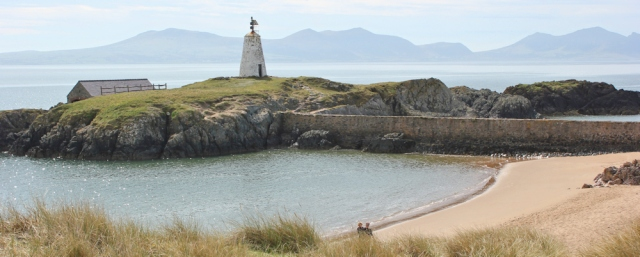 12 daymark tower, Llanddwyn Island, Ruth Livingstone in Anglesey