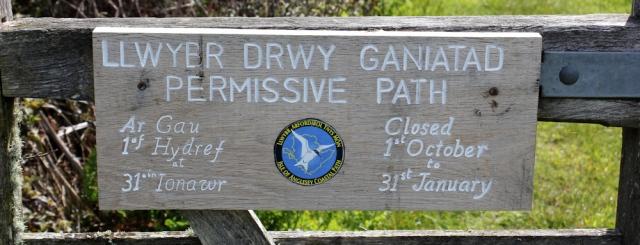 15 back where I started, Llwybr Drwy Ganiatad permissive path, Ruth Livingstone