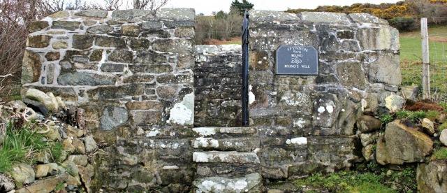 15 Beuno's Well, near Caernarfon, Ruth in Clynnog-fawr