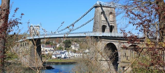 15 Menai Suspension Bridge, Ruth's coastal walk