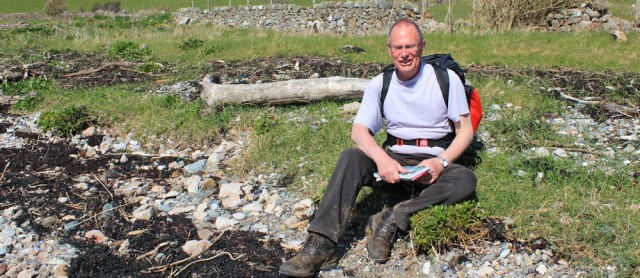 15 Trevor, on the shingle beach, Isle of Anglesey