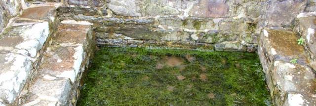 16 inside Beuno's well, Clynnog-fawr, Ruth's coastal walk, North Wales