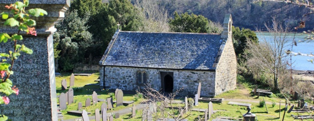 18 Church Island, Ruth walking the Wales Coast Path, Anglesey