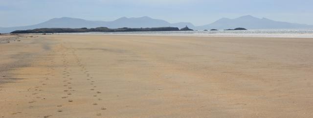 18 Traeth Penrhos, Ruth's coastal walk, Llanddwyn Island