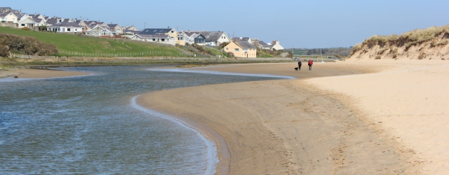 19 walking up the river to Aberffraw, Ruth Livingstone