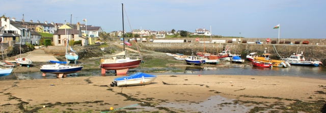 01 Cemaes Harbour, Ruth's coastal walk around Anglesey