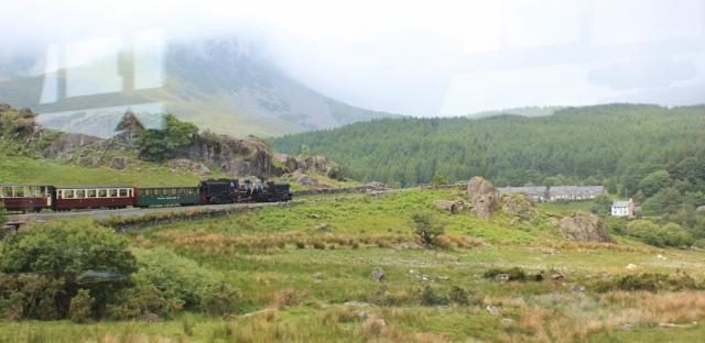 02 Welsh Highland train on Snowdon, Ruth Livingstone