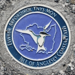 02b Anglesey coast path logo, Ruth's coastal walk