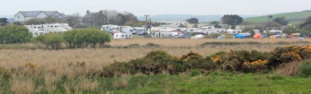 10 Porth Tywyn-Mawr holiday site, Ruth's coastal walk, Anglesey