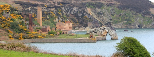 13 Porth Wen brickworks, Ruth's coastal walk