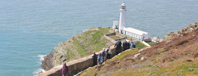 16 South Stack lighthouse, Holyhead, Ruth Livingstone hiking the coast