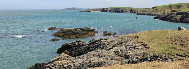 16 view east from Carmel Head, Ruth Livingstone in Anglesey