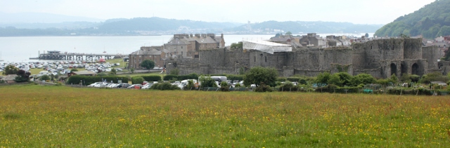 17 Beaumaris Castle, Ruth's coastal walk, Anglesey
