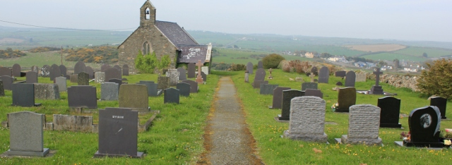 20 church at Llanfaethlu, Ruth Livingstone