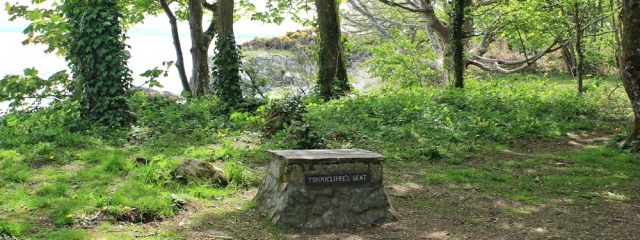 21 Tunnicliffe's seat, Ruth's coastal walk