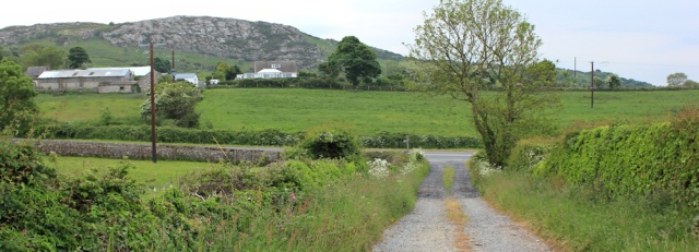 22 to main road, Ruth at Traeth Dulas, Anglesey