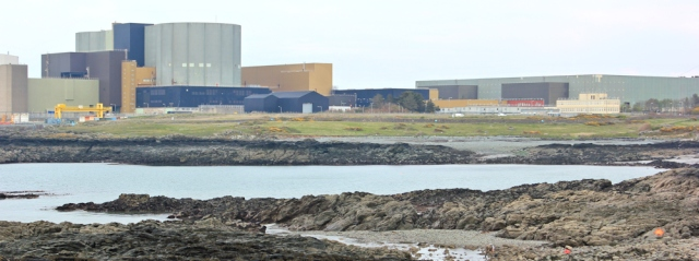 24 Wylfa Head Power Station, Ruth walking North Anglesey