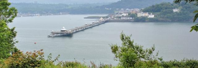 25 Bangor Pier, Ruth's coastal walk, Anglesey