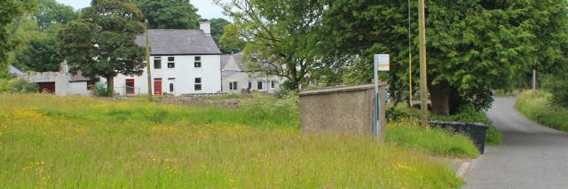 25 bus stop, Ruth in Glan-yr-afon