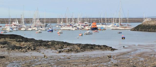 31 Marina, Holyhead, Ruth Livingstone walking the Wales Coast Path