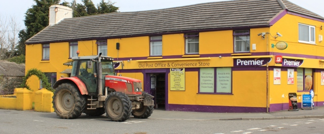 a23 another red tractor and convenience store, Llanfachraeth