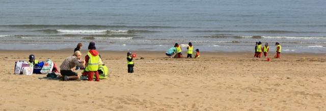 04 high vis children, Colwyn Bay