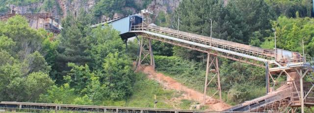 07 quarry conveyer belt