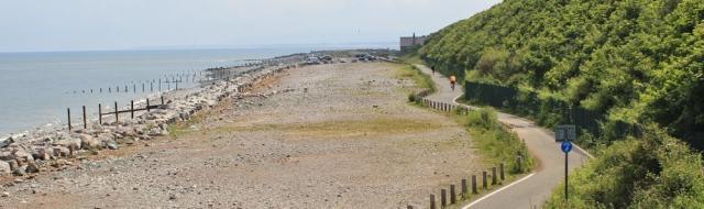 08 cycle route, Llanddulas, Ruth's coastal walk North Wales