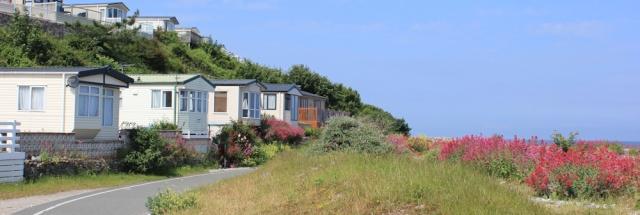 09 caravan park, Llanddulas, Ruth's coastal walk