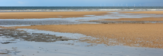 10 sinking sand, Point of Ayr, Ruth's coastal walk, North Wales