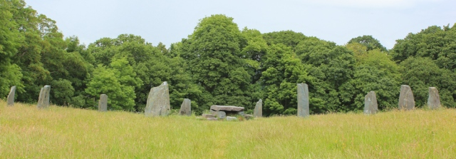 13 stone circle, Ruth's coastal walk, Bangor