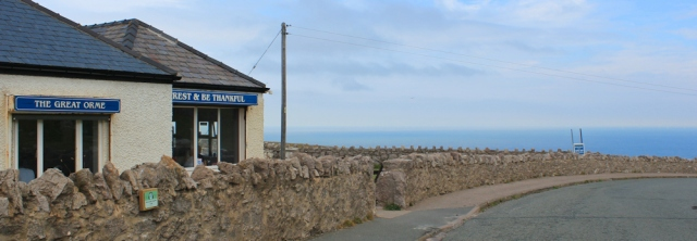 16 cafe at Great Ormes Head, Ruth's coastal walk, North Wales