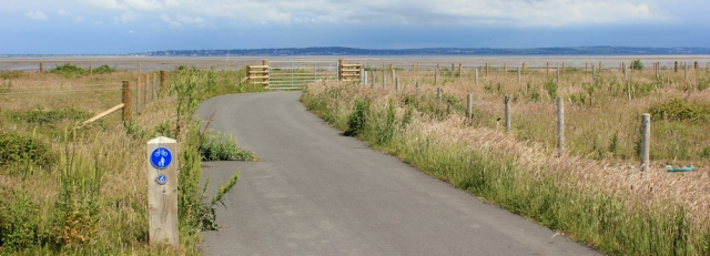 18 Dee estuary, Ruth's coastal walk