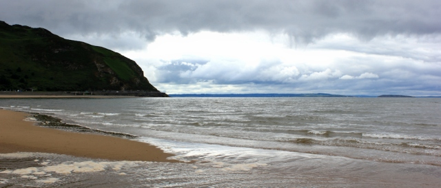 21 rainclouds, North Wales Coastal Path, Ruth Livingstone