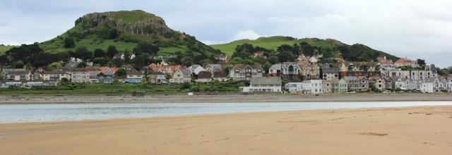 22 Deganwy from Conwy Sands, Ruth's coastal walk, Wales