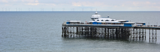 22 Llandudno pier, Ruth Livingstone, hiking in Wales