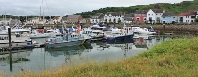 24 Conwy Marina, Ruth's coastal walk, Wales