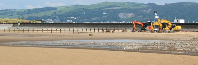 24 drainage problems, Rhyl beach, Ruth Livingstone