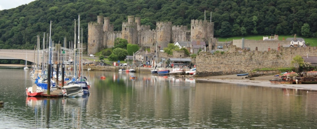 25 Conwy Castle, Ruth's coastal walk, North Wales