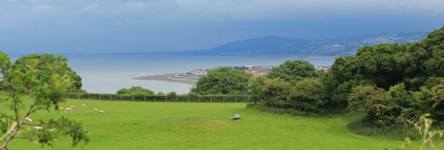 a04 Little Orme Head, view over Colwyn Bay, Ruth Livingstone