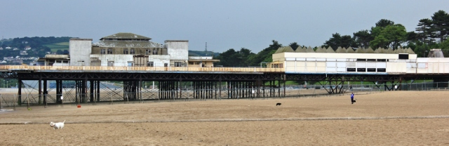 a16 Colwyn Bay pier, Ruth Livingstone hiking in North Wales