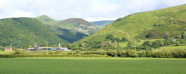 a20 Aber Falls valley, Ruth Livingstone on the coast