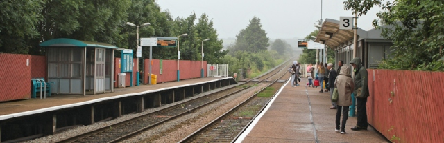 01 train station, Shotton, Ruth's coastal walk