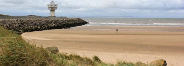 Crosby beach and Radar Station, Ruth's coastal walk